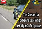 Roof Repair contractor in Canton Michigan
