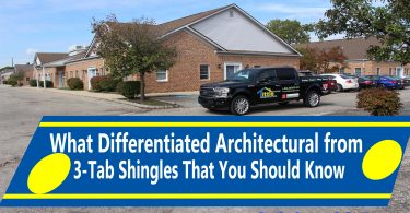 What Differentiated Architectural from 3-Tab Shingles That You Should Know