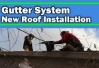 Replacing the Gutter System While Hiring a Roofing Contractor for New Roof Installation
