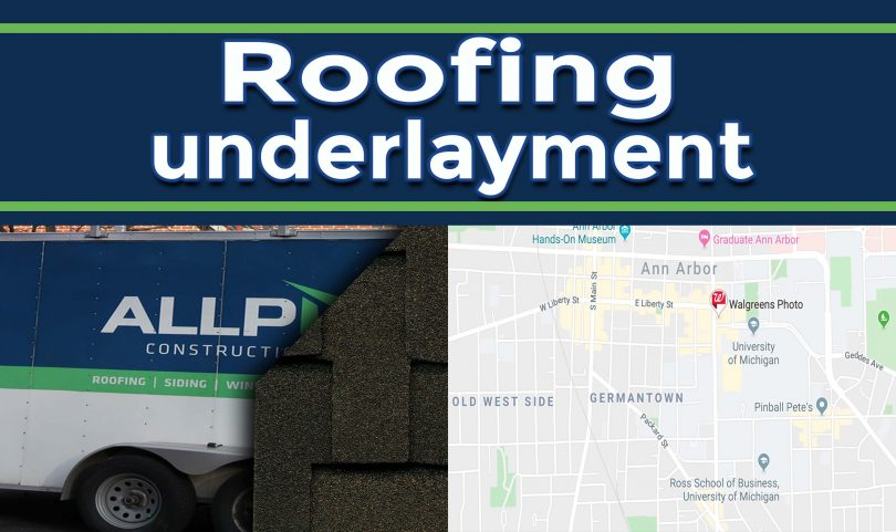 Roofing Underlayment – Why homeowners need it