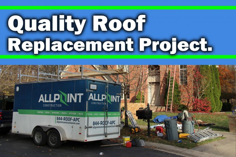 What a Quality Roof Replacement Project in Northville Michigan Entails