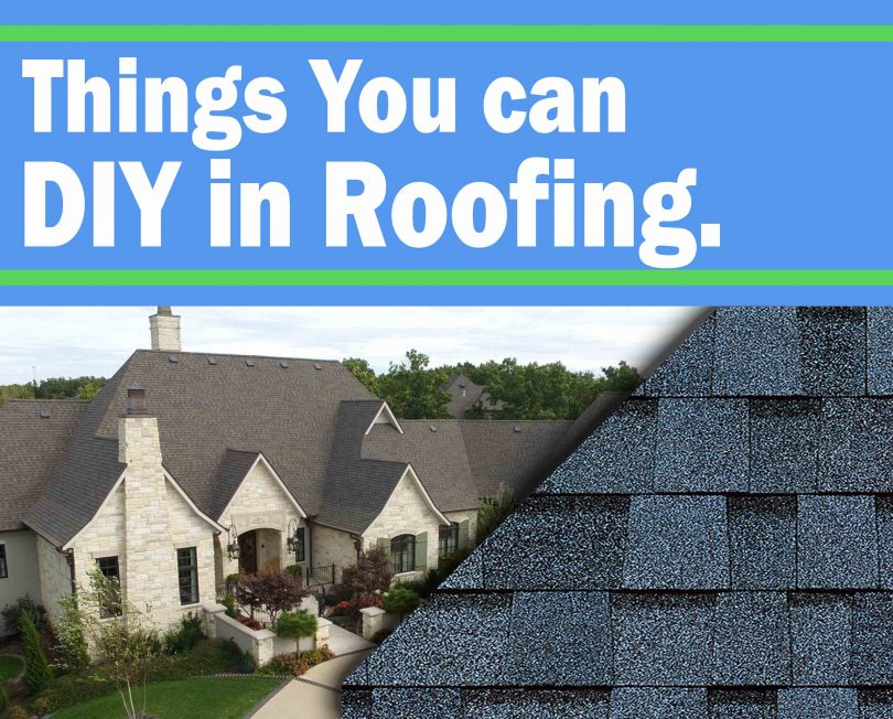 DIY Things You Can Do Without the Help of a Roof Contractor