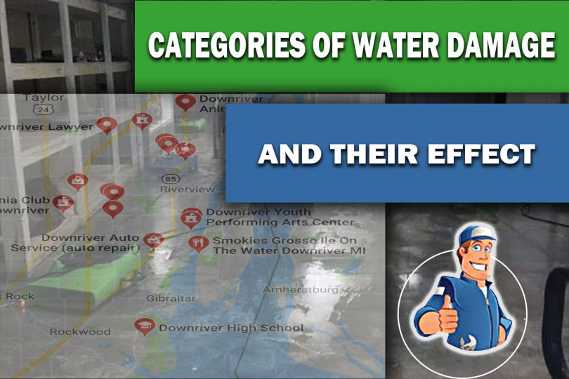 Categories of Water Damage and Their Effect On Restoration