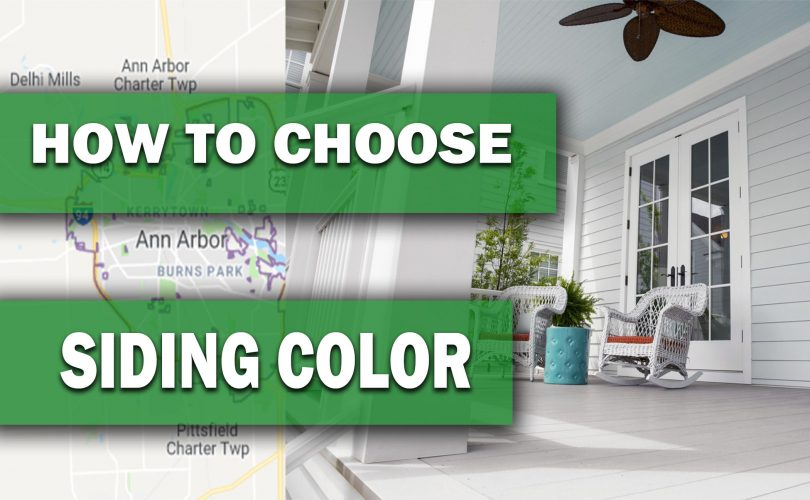 HOW TO CHOOSE THE SIDING COLOR PROPERLY