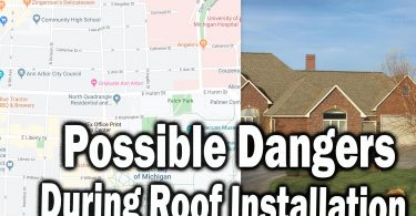 Possible Dangers During Roof Installation