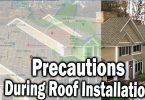 Safety Precautions During Roof Installation