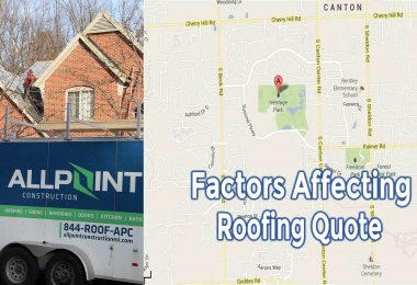 Important Factors Affecting the Price Of A Roofing Contractor