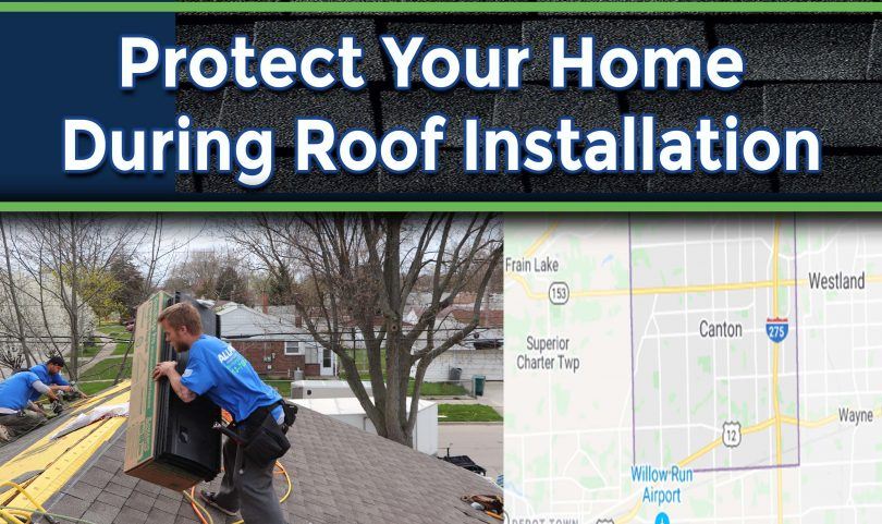 Methods To Protect Your Home Exterior During Roof Installation