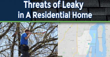 Unanticipated Threats of Leaky Roofs in A Residential Home