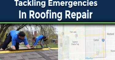How To Tackle Emergencies In Roofing Repair By Contractors
