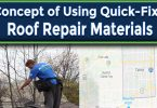 The Concept of Using Quick-Fix Roof Repair Materials