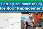 Getting your Insurance Company to Pay for Roof Replacement