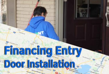Financing Entry Door Installation in Michigan