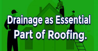 Drainage as Essential Part of Roofing in Canton Michigan