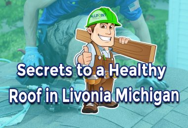 Secrets to A Healthy Residential Roofing in Livonia Michigan